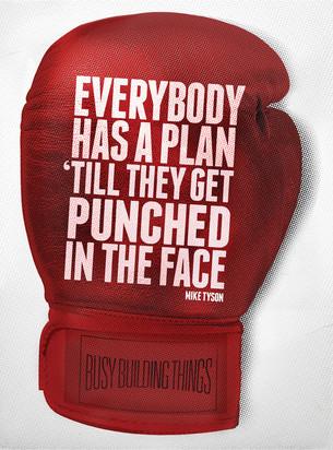 Stop met plannen!